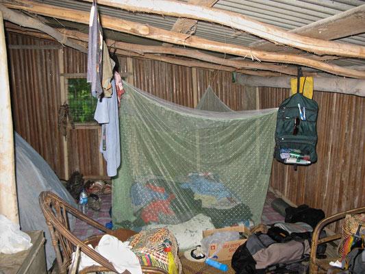 Unterkunft bei Steve dem Häuptling von Korogo