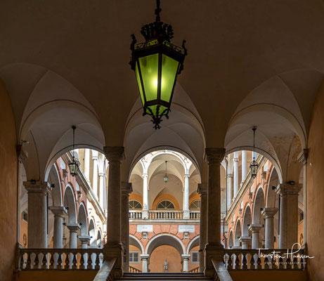 Seit 2006 gehört die Via Garibaldi zum UNESCO-Weltkulturerbe.