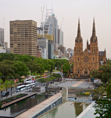 Saint Mary's Cathedral in Sydney