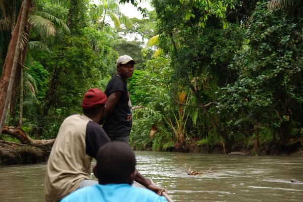 Unterwegs auf dem Sepik River
