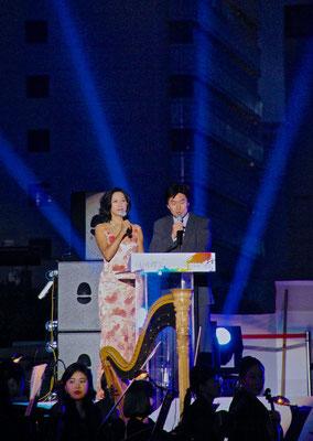 Eröffnungszeremonie vom Hi-Festival in Seoul