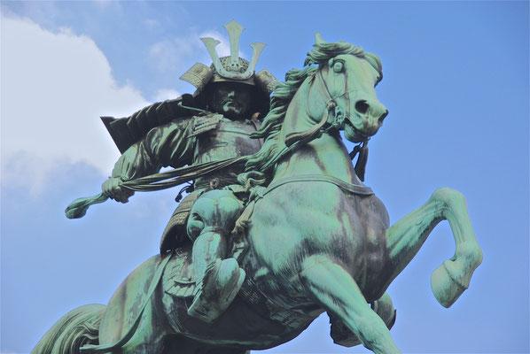 Samurai Kämpfer