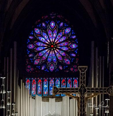 1869 begann eine umfassende Restaurierung der Kathedrale, die nun als Nationalsymbol des neuen Norwegens galt.