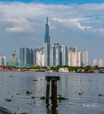 Modernes Geschäftszentrum von Ho-Chi-Minh-Stadt
