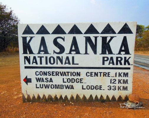 Der Kasanka-Nationalpark ist mit 450 km² der kleinste Nationalpark in Sambia und liegt südwestlichen des Bangweulusees in den Bangweulusümpfen westlich vor dem Muchinga-Gebirge.