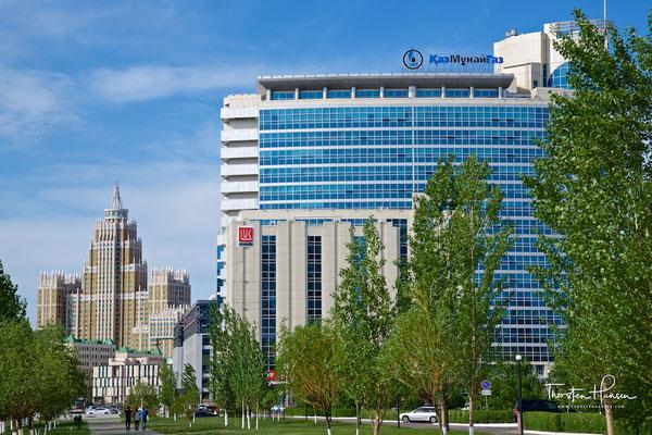 Die Konzernzentrale von KazMunayGas in Astana