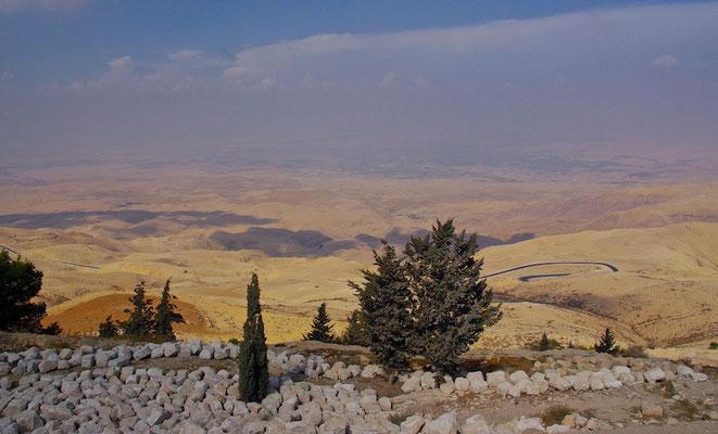 Blick vom Mount Nebo