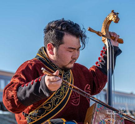 Mongolische Musik – Die mongolische Pferdekopfgeige MORIN KHUUR