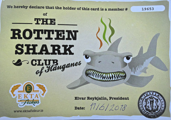 Rotten Shark Club of Hauganes