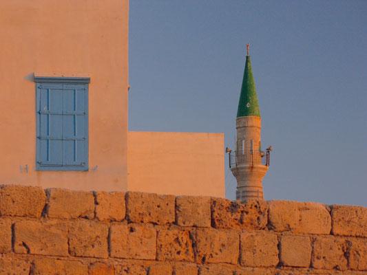 Akkon Altstadt - Blick auf eine Moschee