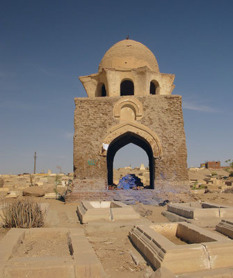 Fatimid Friedhof in Assuan