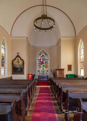 Die Kirche ist ein Nationales Denkmal und täglich für Besucher für wenige Stunden am Nachmittag geöffnet. Sie gehört der Evangelisch-Lutherischen Kirche in Namibia (DELK).