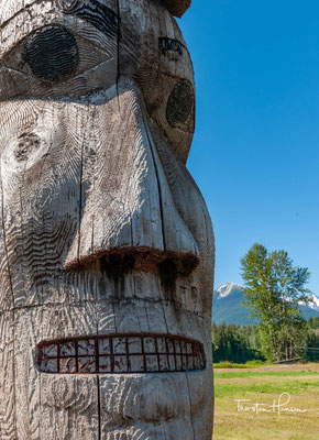 Totem Pfähle in Prince Rupert