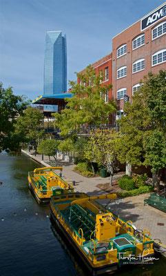Oklahoma City Canal Bricktown