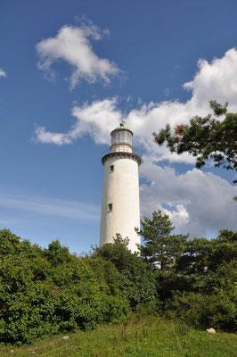 Der Fårö Leuchtturm ist ein schwedischer Leuchtturm an der östlichsten Spitze von Fårö