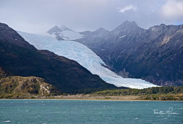 Ein Gletscher nach dem anderen, benannt nach der alten Heimat der Auswanderer vor über hundert Jahren