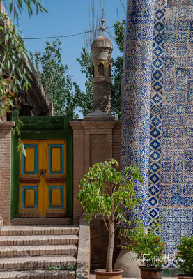 Die Grabstätte wurde als ein Familiengrab von Apak-Hodscha benutzt, dem machtvollen Führer der Kashgar in dem 17. Jh,