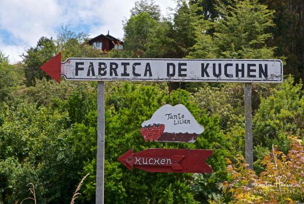 Kuchenfabrik in Frutillar