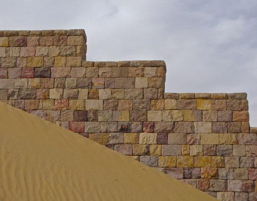 Wüstenmauer