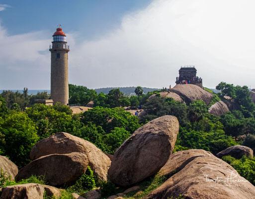 Tempelbezirk von Mahabalipuram ist eine von der UNESCO gelistete Stätte des Weltkulturerbes in Indien. Die Welterbestätte umfasst unterschiedliche Bau- und Kunstwerke aus der Pallava-Zeit