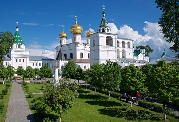 Ipatioskloster in Kostroma