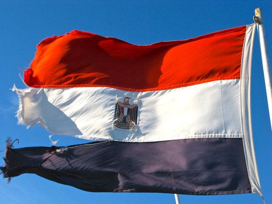 Ägypische Flagge