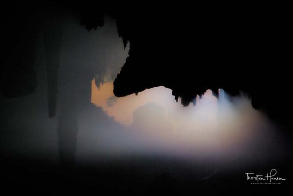 Mystische Hoq Höhle auf Sokotra