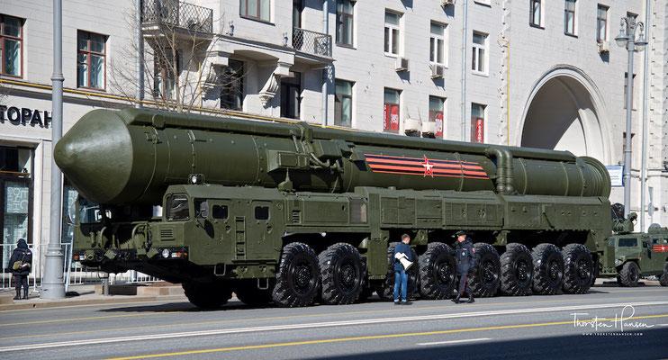9. Mai - Tag des Sieges in Moskau