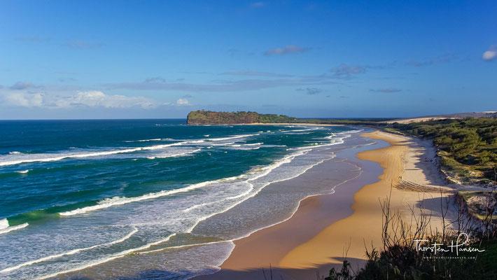 Auf Hood Point auf Fraser Island wurden Objekte aus Blei gefunden, das entsprechend einer Materialanalyse in Spanien abgebaut worden war. E