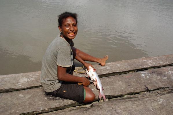 Catfish aus dem Sepik River