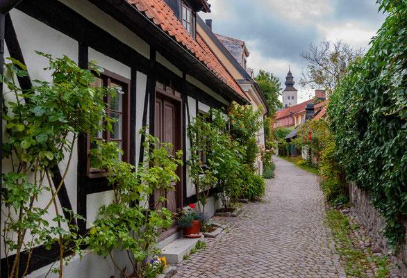 Die Gotländer erhielten von Kaiser Lothar bereits 1134 weitreichende Handelsrechte.[12] Die deutschen Kaufleute, die in der Ostsee Handel trieben, besaßen solche Privilegien auf Gotland jedoch nicht, was Streitigkeiten zw. den beiden Parteien hervorrief