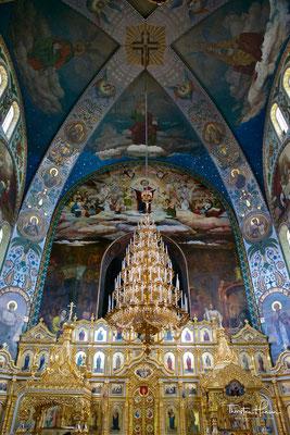 Die Großfürstin finanzierte den Klosterbau auf eigene Kosten, wobei allein das Grundstück mehr als 50.000 Rubel kostete.