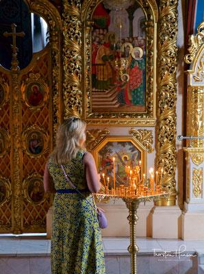 Die Gebeine der 306 geköpften und von der gesamten christlichen Welt für den unverrückbaren Glauben verehrten Großmärtyrerin...