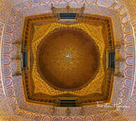 Der Alcázar, der mittelalterliche Königspalast von Sevilla