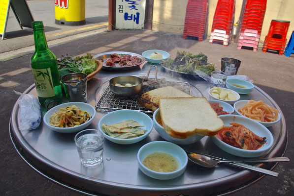 Korean Barbecue in Seoul