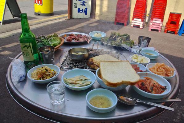 Korean Barbecue in Seoul