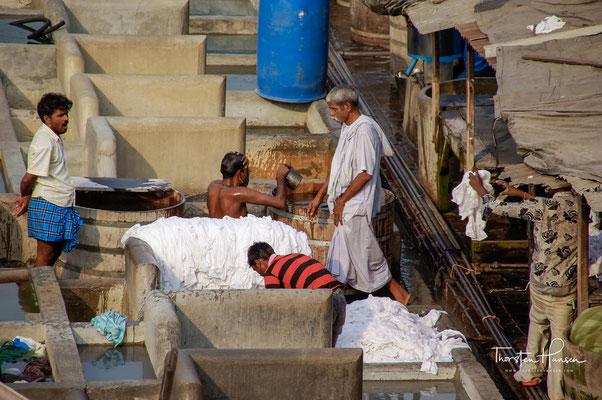 Die elektrischen Trockner benutzen sie hauptsächlich zur Monsunzeit, zwischen Juni und September, denn dann trocknet hier nichts in Mumbai