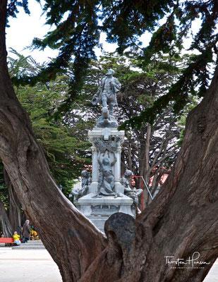 Magellan-Denkmal auf der Plaza de Armas
