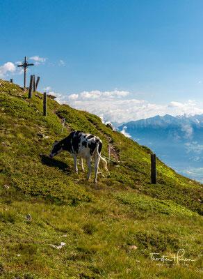 Gipfelkreuz des Campilberges