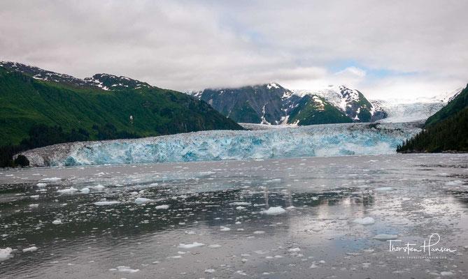 Gletscherzunge des Meares-Gletschers