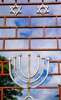 Paradesi-Synagoge, Indiens älteste erhaltene Synagoge. Fast alle Cochin-Juden sind nach Israel emigriert.