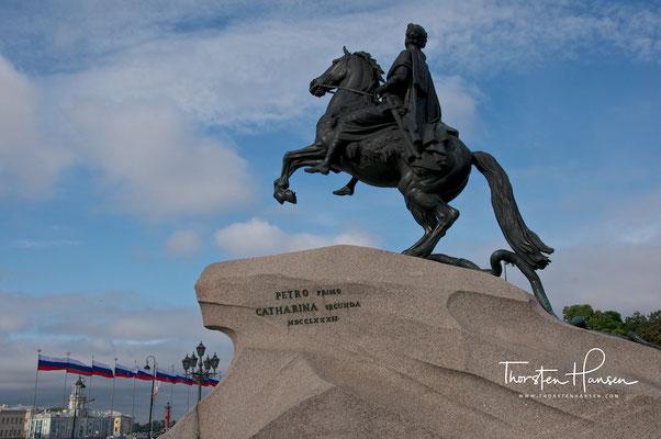 Denkmal Peter des Großen in St. Petersburg