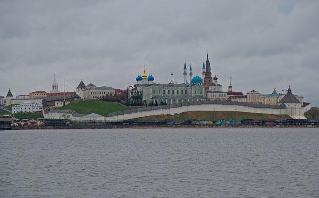 Blick auf den Kasaner Kreml