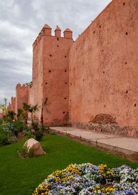Teil der Stadtmauern, die unter Ali ibn Yusuf errichtet wurden.
