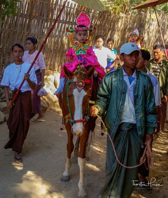 Initiationsritus in Myanmar