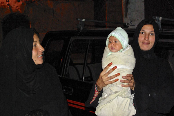 Selbstbewusste Frauen in Sanaa
