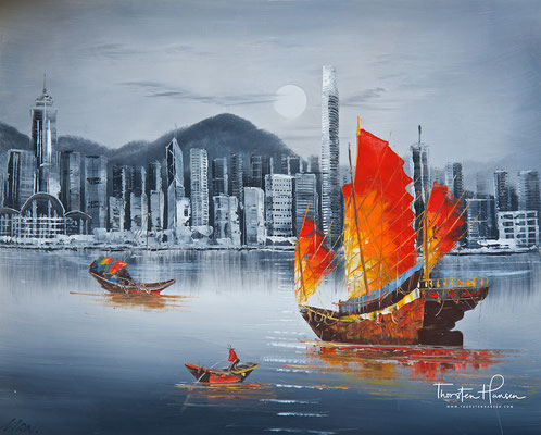 Das alte Hong Kong