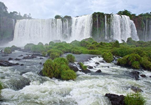 Panorama von der Brasilianischen Seite
