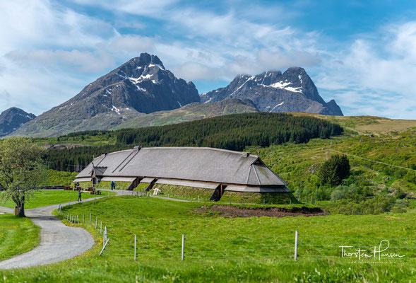 Das einstige Haus eines Wikingerhäuptlings wurde um etwa 500 n. Chr. errichtet und war bis etwa 900 n. Chr. bewohnt.