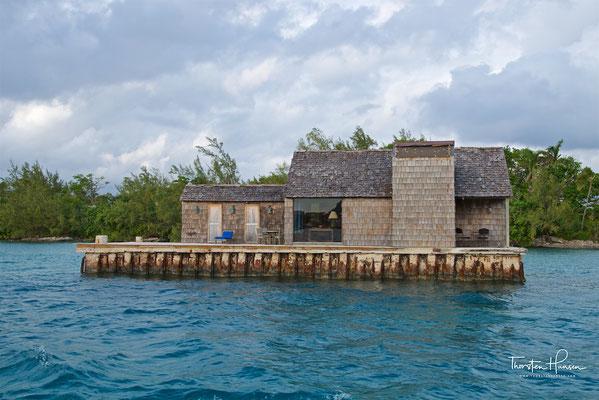 James Bond Hütte auf den Bahamas